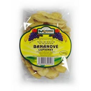 Banánové lupínky 100g