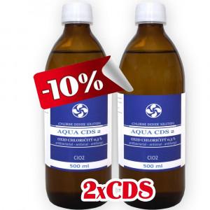2x CDS2 - Oxid Chloričitý 0,3% (500ml)