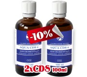 2x AQUA CDS2 je Oxid chloričitý   0,3%...