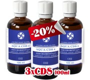 3x CDS2 - Oxid Chloričitý 0,3% (100ml)