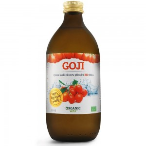 Goji Bio 100% šťáva premium quality 500 ml
