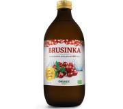 Brusinka BIO 100% šťáva premium quality 500 ml