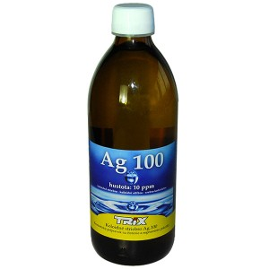 Koloidní stříbro Ag100 500 ml 10ppm