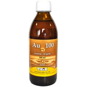 Koloidní zlato Au100 300 ml 10 ppm