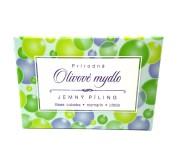 Olivové pilingové mýdlo  je vyrobené ručně a...
