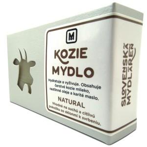 Mýdlo z kozího mléka - NATURAL 110g