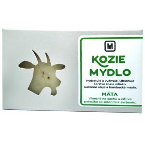 Mýdlo z kozího mléka - MÁTA 110g