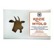 Mýdlo z kozího mléka - SKOŘICE & POMERANČ...