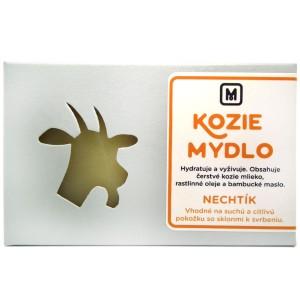 Mýdlo z kozího mléka -  MĚSÍČKOVÉ 110g