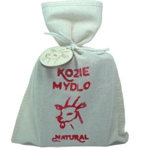 Mýdlo z kozího mléka NATURAL - pytlík 110g