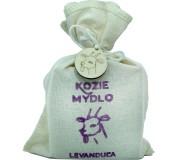 Mýdlo z kozího mléka - LEVANDULE je ideální...