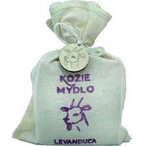 Mýdlo z kozího mléka LEVANDULE - pytlík 110g