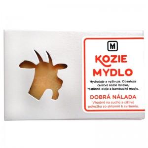 Mýdlo z kozího mléka -  DOBRÁ NÁLADA 110g