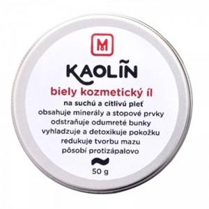 Přírodní kosmetický jíl Kaolín - bílý