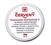 Francouzský kosmetický jíl - červený  pochází...