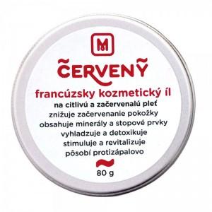 Francouzský kosmetický jíl - červený