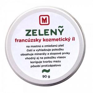 Francouzský kosmetický jíl - zelený