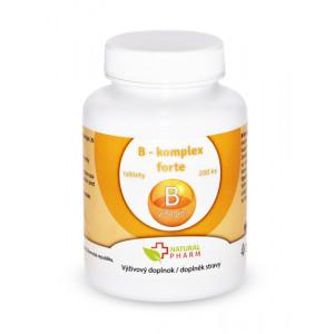 B - komplex forte tablety 200 ks
