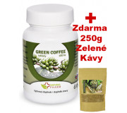 Natural Pharm Green Coffee 100 tablet + Zelená káva mletá 250 g