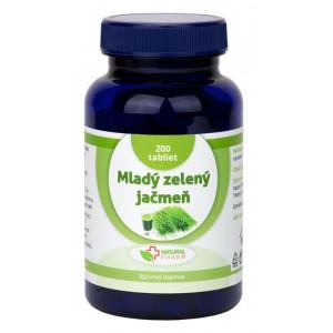 Mladý zelený ječmen tablety 200ks