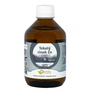 Tekutý zinek Zn + vitamín C 300ml