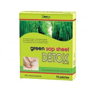 Detoxikační náplasti GREEN SAP SHEET