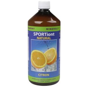 Iontový nápoj SPORTiont Natural - citron
