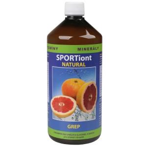 Iontový nápoj SPORTiont Natural - grep