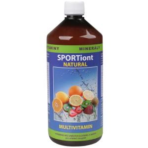Iontový nápoj SPORTiont Natural - multivitmín