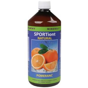 Iontový nápoj SPORTiont Natural - pomeranč