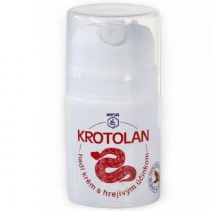 KROTOLAN - hadí krém s hřejivým účinkem 50 ml